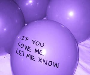 purple, balloons, and grunge image