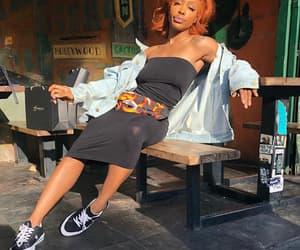 ctrl, fashion, and orange hair image