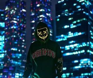 dark, town, and xx image