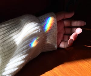 aesthetic, iridescent, and pride image