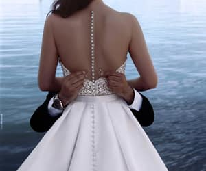 wedding, wedding dress, and perfect image