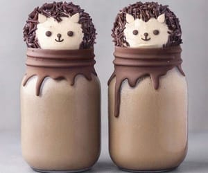 chocolate, food, and milkshake image