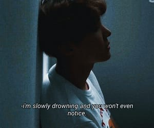 quotes, sad, and bts image
