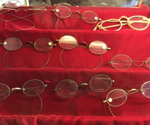 archive, glasses, and red image