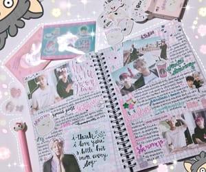 diary, hello kitty, and kawaii image