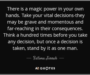 fatima, quote, and hamsa hand image