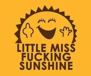 funny, sunshine, and miss image
