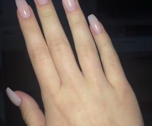 acrylic, fake nails, and long nails image