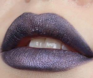 lip gloss, lipstick, and makeup image