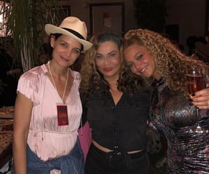mrs carter, Katie Holmes, and tina knowles image