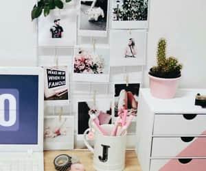 decoration, girls, and desk image