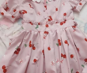 cherry, fashion, and pink image