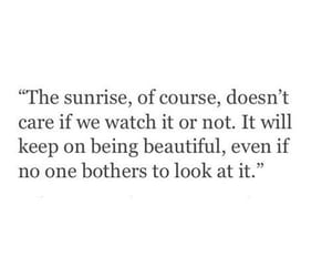 quotes, sunrise, and sun image