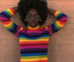 colorful, sweater, and fashion image