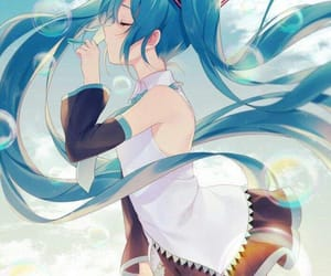 vocaloid, hatsune miku, and miku image