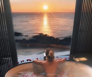 bath, Dream, and relaxation image