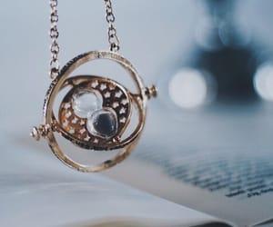 harry potter, hogwarts, and timeturner image