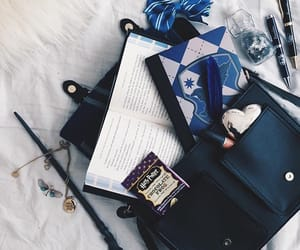 blue, magic, and ravenclaw image