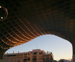 city, sevilla, and summer image