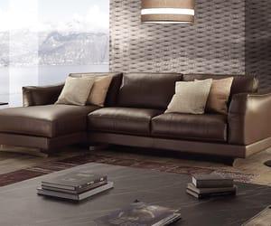 sofa, sectional sofa, and italian leather sofa image