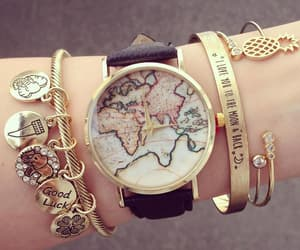 accessories, clock, and watch image