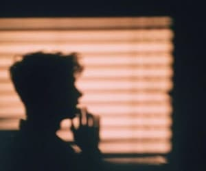 shadow, boy, and aesthetic image