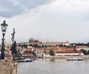 journey, prague, and travel image