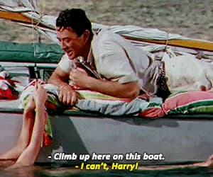 gif, gregory peck, and the snows of kilimanjaro image