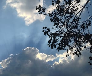 aesthetic, cloud, and sky image