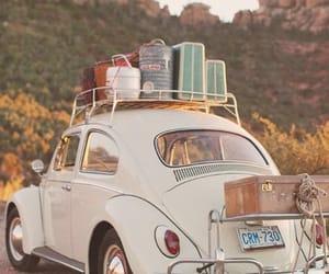 car, hills, and holiday image