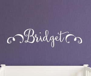monogram, personalized, and nursery image