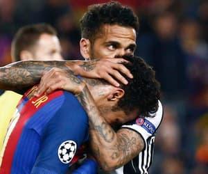 football, friendship, and fc barcelona image