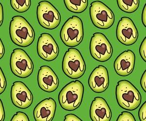avocado, background, and iphone image