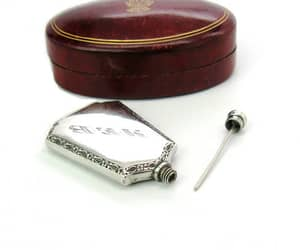 1920s, floral, and sterling silver image
