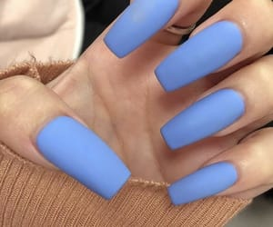 blue, ideas, and nails image