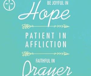 faith, pray, and green image