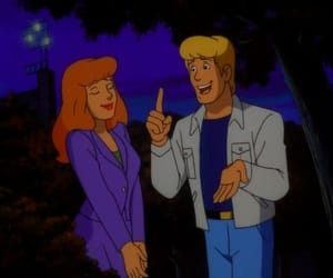 classic, couple, and scooby doo image