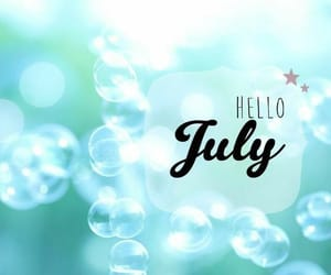 7, july, and bubble image