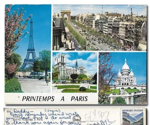 1966, postcard, and used image