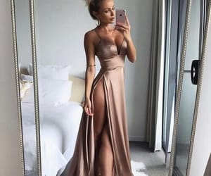 cool, dress, and golden image
