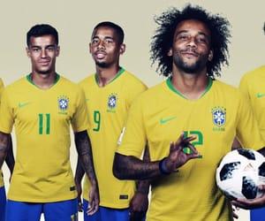 brasil, brazil, and soccer image