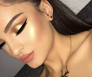 beautiful, cosmetics, and highlighter image