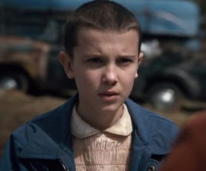 eleven, millie bobby brown, and stranger things image