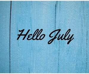 hello july image