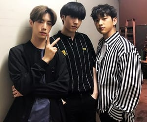 junior, youngjae, and mark image