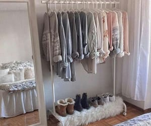 clothes, room, and closet image