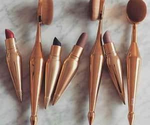 lipstick, ral, and makeup image