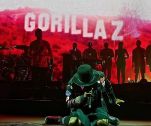 gorillaz, hollywood, and the now now image
