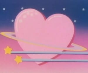 aesthetic, hearts, and stars image