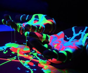 color, glow, and party image